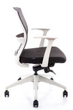 Office chair on a white background. Modern office chair on white background,isolated Stock Image