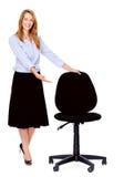 Office chair woman Stock Photos