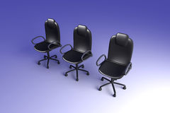 Office Chairs Royalty Free Stock Photos