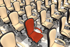 Office Chairs Royalty Free Stock Image