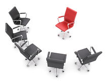 Office chairs Stock Photos