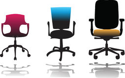 Office chairs Stock Photo
