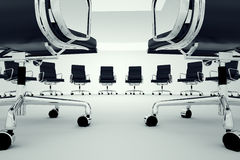 Office chairs. Royalty Free Stock Photos