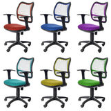Office chairs | Isolated Royalty Free Stock Photo