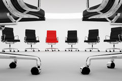 Office chairs. Royalty Free Stock Image