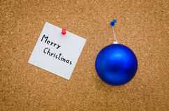 Office christmas greeting card Stock Images