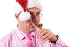 Office christmas party royalty free stock photos