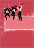 Office christmas party background Royalty Free Stock Image