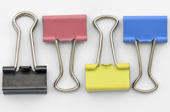 Office Clamps Stock Photography