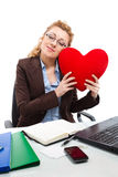 Office clerk-1 Stock Photos