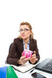 Office clerk-4 Royalty Free Stock Photos