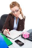 Office clerk-5 Royalty Free Stock Images
