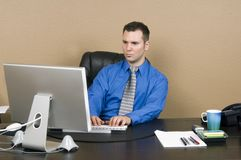 Office clerk Stock Photos
