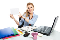 Office clerk-6 Stock Photo