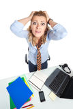 Office clerk-9 Stock Images