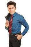 Office clerk in apprenticeship Stock Images