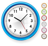 Office clock Royalty Free Stock Images