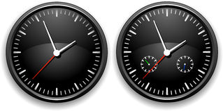 Office clock Stock Photography