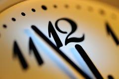 Office clock. Horizontal image of office clock Royalty Free Stock Photo