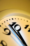 Office clock Royalty Free Stock Photo