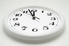 Office clock Stock Photography