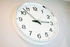Office clock Royalty Free Stock Image