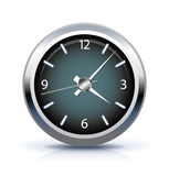 Office clock icon Stock Photography