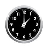 Office clock. Vector Stock Images