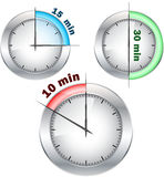 Office clocks Royalty Free Stock Image