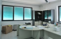Office after closedown Stock Photos