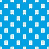 Office closet pattern vector seamless blue. Repeat for any use Royalty Free Stock Photos