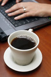 Office Coffee Stock Photography