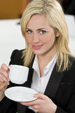 Office Coffee Stock Photo