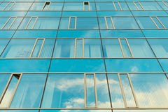Office complex of high-rise buildings. Royalty Free Stock Photography