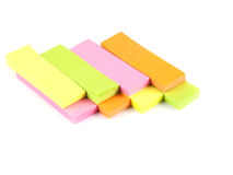 Office composition. Self-adhesive notes Royalty Free Stock Photography