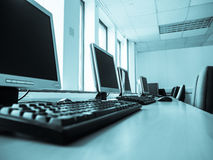 Office computer Royalty Free Stock Images