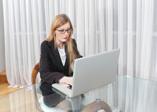 Office computer Royalty Free Stock Photos