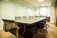 Office, Conference Hall, Table, Furniture stock photo