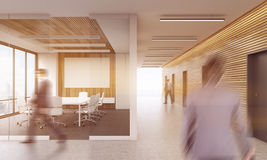 Office conference room interior Royalty Free Stock Photography