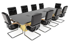 Office Conference Table Royalty Free Stock Photo