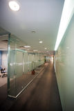 Office corridor Royalty Free Stock Photos