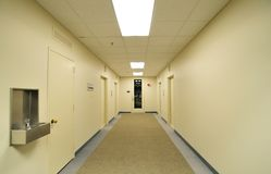 Office corridor Stock Photos