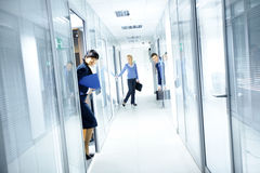 Office Corridor Royalty Free Stock Image