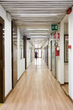 Office corridor Stock Photos