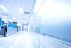 Office corridor Stock Photography