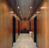 Office corridor Stock Photo