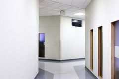 Office corridor Stock Photography