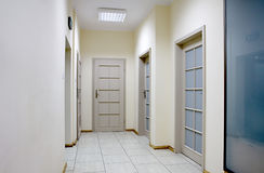 Office corridor. Royalty Free Stock Images