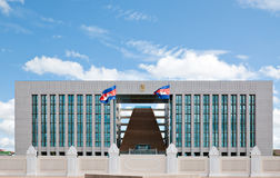 Office of the Council of Ministers in Phnom Penh Stock Photos