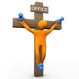 Office crucifix  Stock Photos